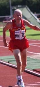 Julian Bernal, durante su participación en el campeonato de Finlandia.