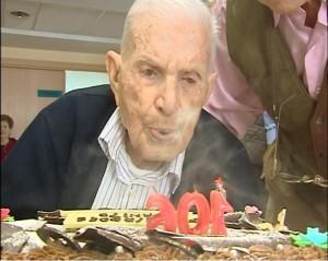 Juan Francisco Gil Guijarro cumplio 106 años